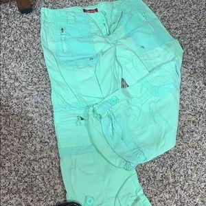 Be Bop cuffed crop pants